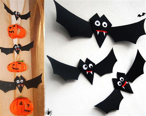 Easy Diy Halloween Home Decor Ideas With Ghosts, Bats And