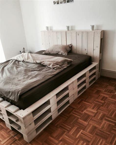 canapé lit en palette comment faire un lit en palette 52 id 233 es 224 ne pas