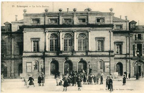 salle berlioz anciennement th 233 226 tre de limoges place de la r 233 publique vers 1932 carte postale