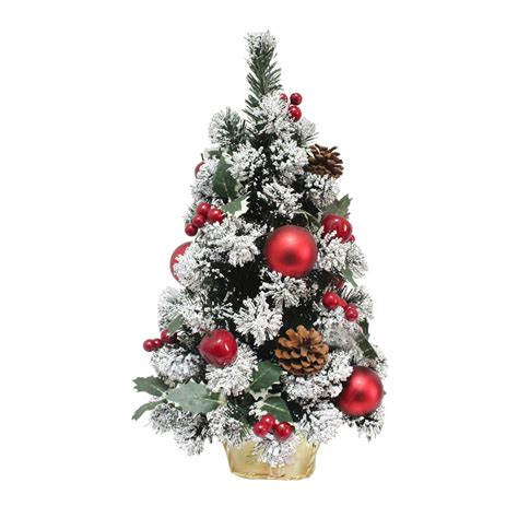 decorated artificial mini christmas tree cm tall  styles