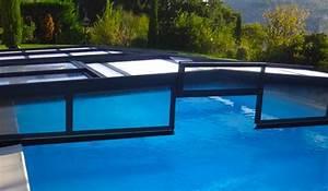 Abri Piscine Bas Coulissant : abri de piscine bas coulissant et t lescopique abris ~ Zukunftsfamilie.com Idées de Décoration