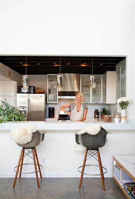 bar dans cuisine comment adopter le tabouret de bar dans l 39 intérieur moderne