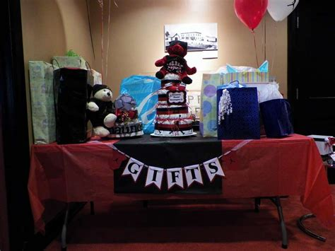 michael jordan jumpman baby shower party ideas photo 10