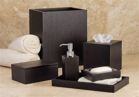 italian wenge hotel bathroom accessories set