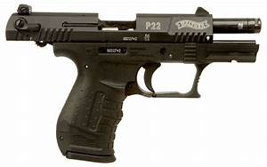 Deactivated Walther P22 semi auto Pistol - Modern ...