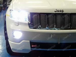 Led fog lights on jeep grand cherokee is a step up