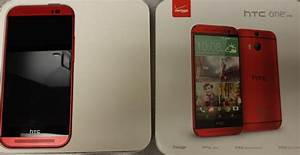 Here Is Verizon U2019s Htc One  M8  In Red  Should Be Here Thursday  U2013 Droid Life