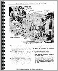 Ford 801 Tractor Service Manual