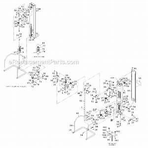 Cybex 55620 H Parts List And Diagram   Ereplacementparts Com