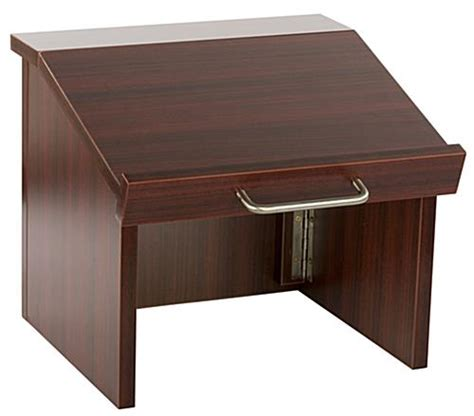 folding table top podium collapsible countertop podium folds down to 5 quot h