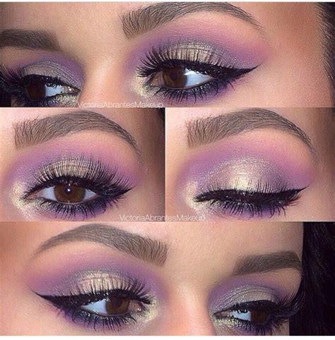 lilac  silver shadow lilac eye makeup lilac eyeshadow lilac eye