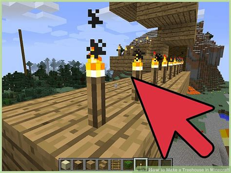 treehouse  minecraft  pictures wikihow
