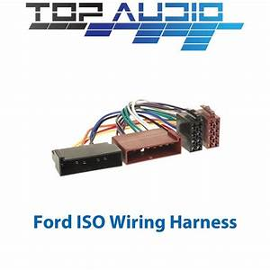 Ford Iso Wiring Harness Stereo Radio Plug Lead Loom