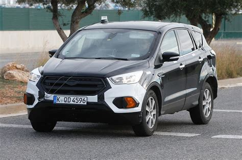 ford kuga spied    time pictures