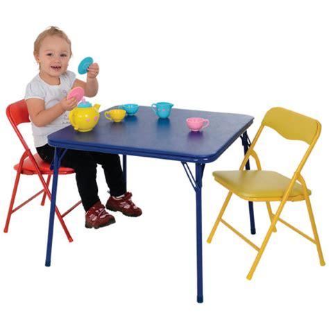 table et chaise pour enfants ensemble table et 2 chaises pliantes pour enfants