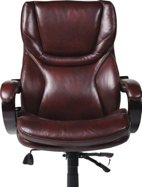 serta 43506 bonded leather big executive chair