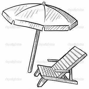 beach umbrella coloring page - Free Large Images