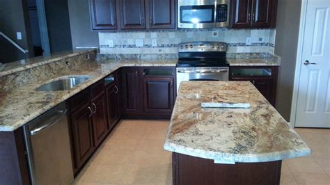 light and kitchen cabinets bordeaux granite countertops traditional 8985
