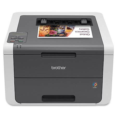 office depot color printing wireless color laser printer hl 3140cw by office