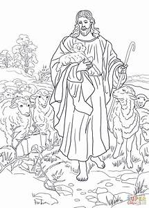Jesus is the Good Shepherd coloring page | Free Printable ...