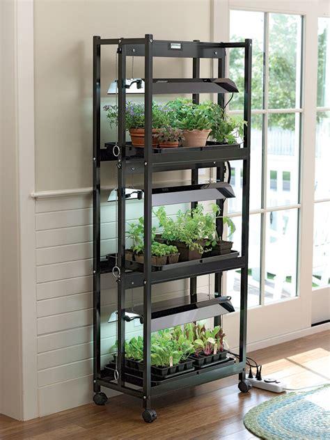 grow lights compact  tier sunlite garden gardenerscom
