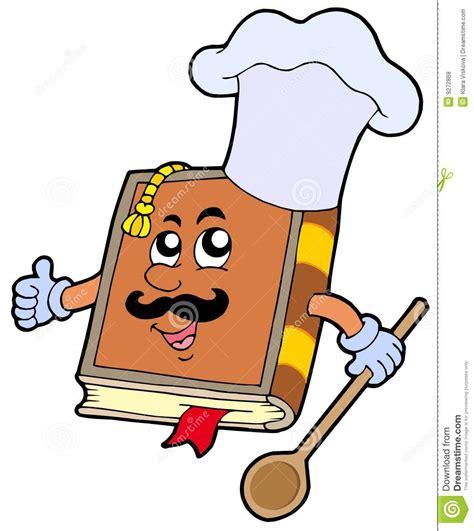 dessin recette de cuisine recette de dessin animé de livre photos libres de droits