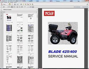 Tgb Quad  U0026 Atv  250  325  425  - Service Manual