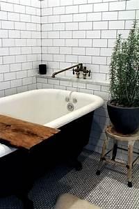 Petite Baignoire Retro : le th me du jour est la salle de bain r tro ~ Edinachiropracticcenter.com Idées de Décoration