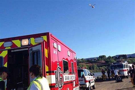 Boating Accident Grand Island Ne by Grand Junction Colorado River Rescue Efforts