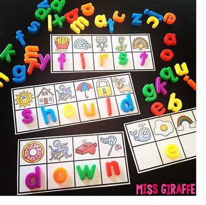 Sight Words Letters Magnet Practice Word Magnets