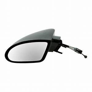 Manual Remote Side View Mirror Driver Side Left Hand Lh