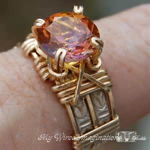Wire Wrapped Prong Ring Tutorial