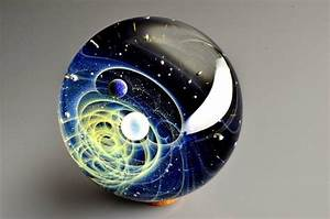 Space Glass: Mini solar systems, planets and stars encased ...