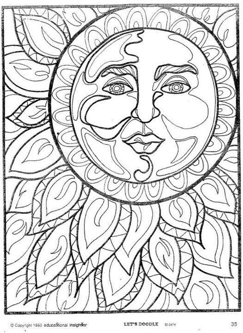 trippy sun and moon clipart 20 free Cliparts | Download