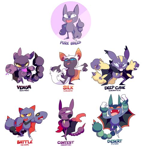 Pokemon Breeds Google Search Gligargliscor
