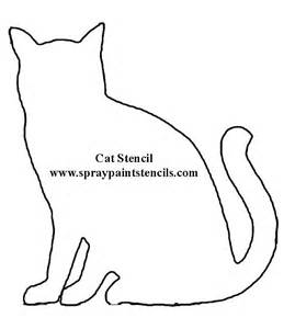 cat template free stencils of animals