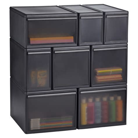 Likeit Smoke Modular Drawers  The Container Store. Little Desk Concerts. Console Desk Table. Utensil Holder For Drawer. What Is A Regulation Size Pool Table. Breakfast Tables. Executive Wood Desk. Red Desk Mat. Table Top Stand Up Desk