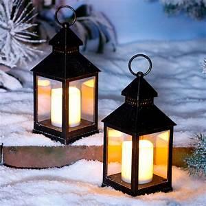 Laterne Kerze Draußen : led laterne winterabend online kaufen bei g rtner p tschke ~ Watch28wear.com Haus und Dekorationen