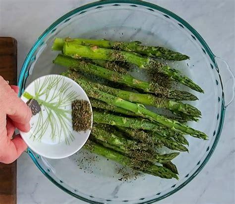 air asparagus fryer fry