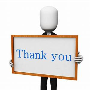 3D Clipart Thank You