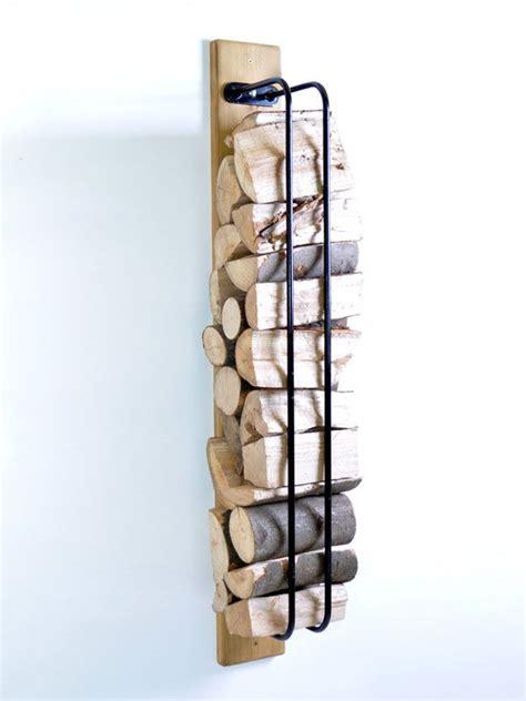 log rack wall mounted indoor firewood rack firewood