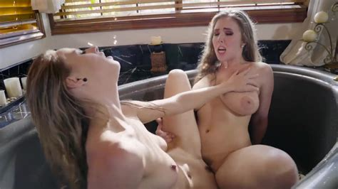 Lena Paul Has Hot Lesbian Post Shower Sex With Her Bf S