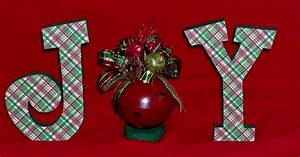christmas decor joy holiday wooden letters With christmas wooden letters