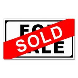 Sold Real Estate Sale Sign Template