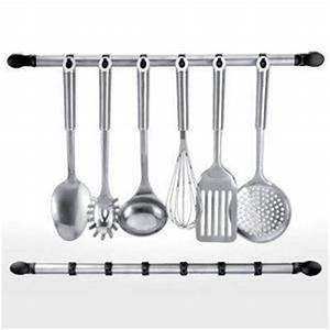 Support Ustensile Cuisine : barre support ustensiles de cuisine achat vente barre ~ Teatrodelosmanantiales.com Idées de Décoration