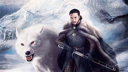Thrones 4k Jon Snow Wallpapers Ghost Ultra