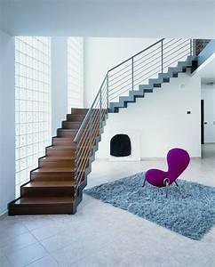 Echelle D Escalier : escalier quart tournant limons lat raux marches en ~ Premium-room.com Idées de Décoration