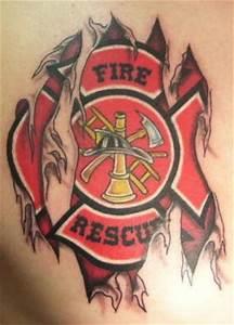 15+ Tribal Firefighter Tattoos