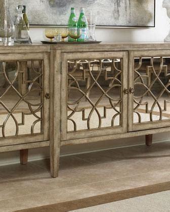 mirrored sideboard table braxton sideboard neiman 4166