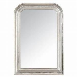 Miroir Baroque Maison Du Monde : miroir argent dome perle petit mod le sb rangement miroirs luminaire mirror silver ~ Melissatoandfro.com Idées de Décoration